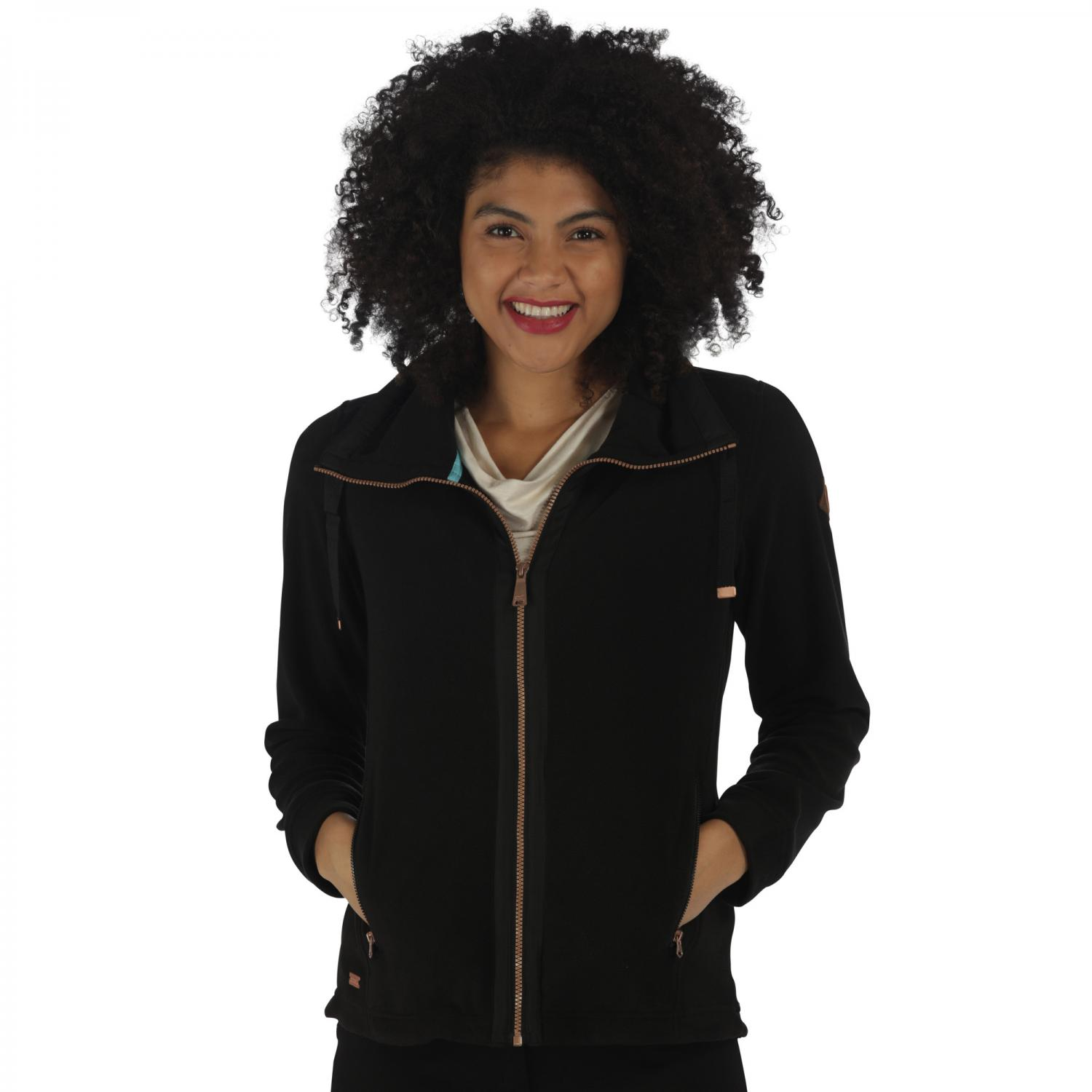 Daphnie Fleece Black