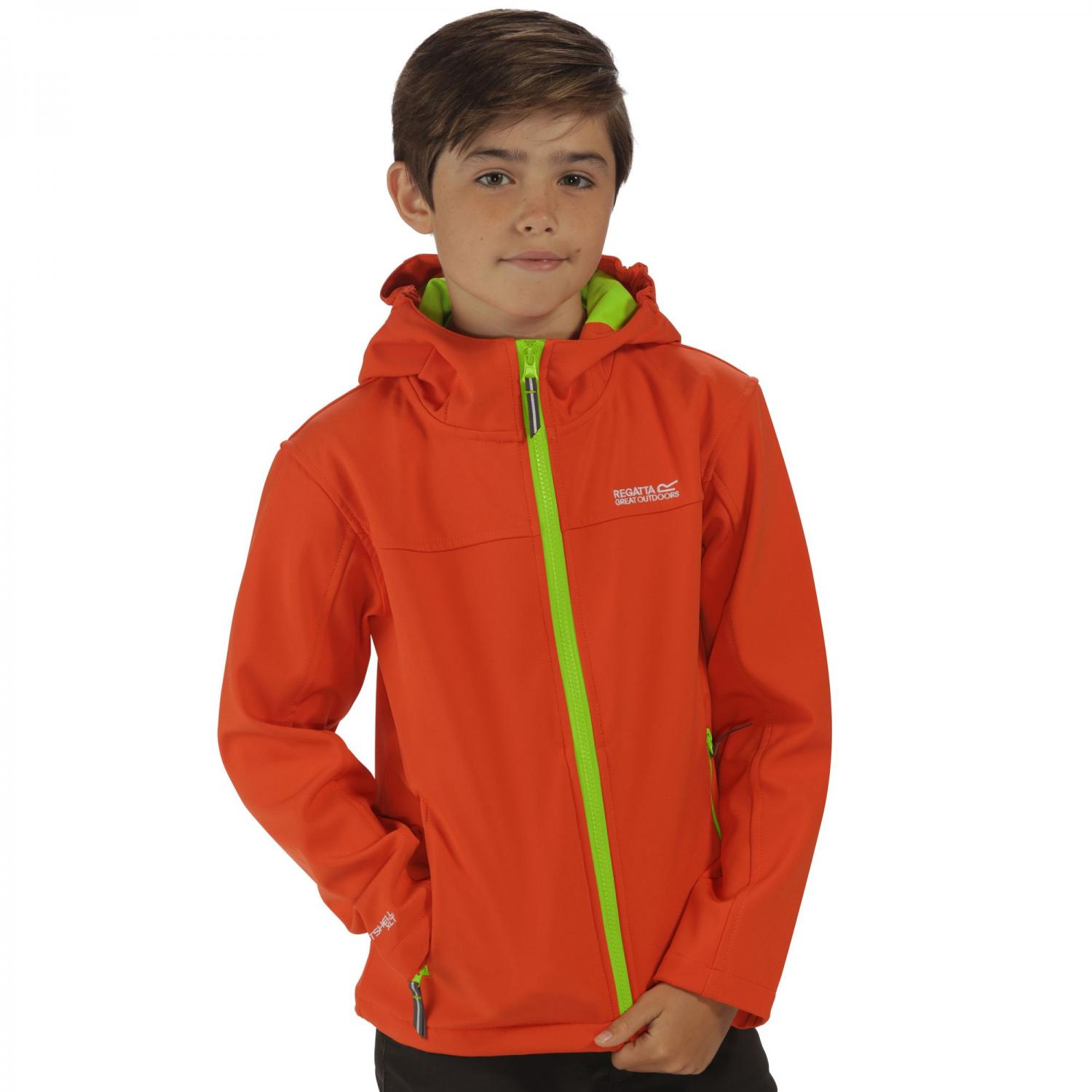 Tyson II Softshell Jacket Magma Lime