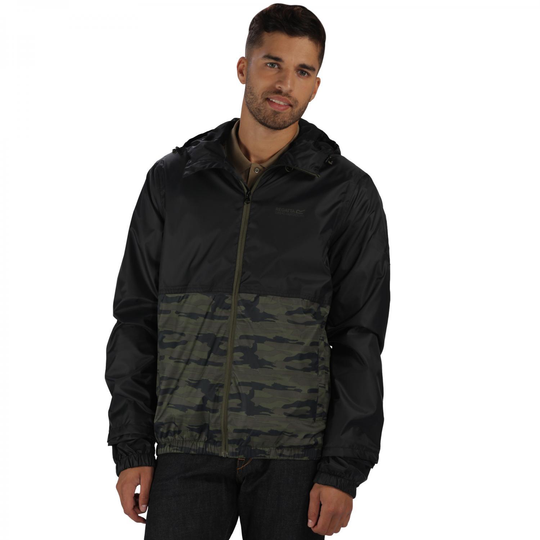 Akka Jacket Black Camo