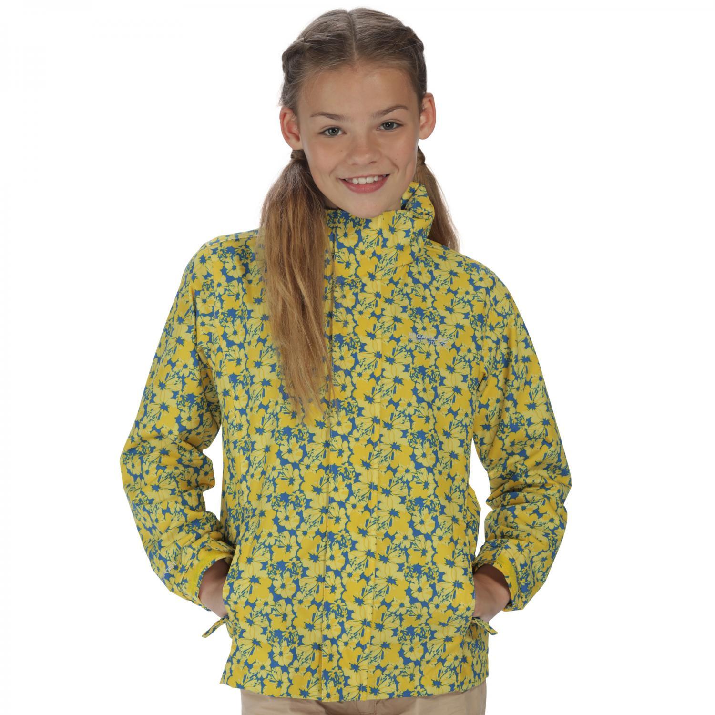 Printed Overchill Jacket Spring Yellw