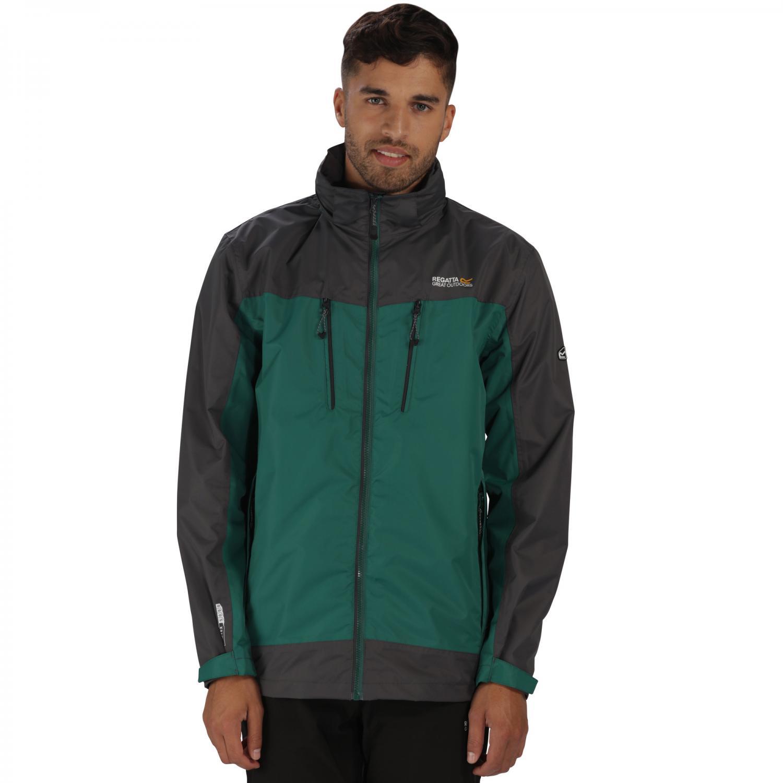 Calderdale II Jacket Hunter Green Grey