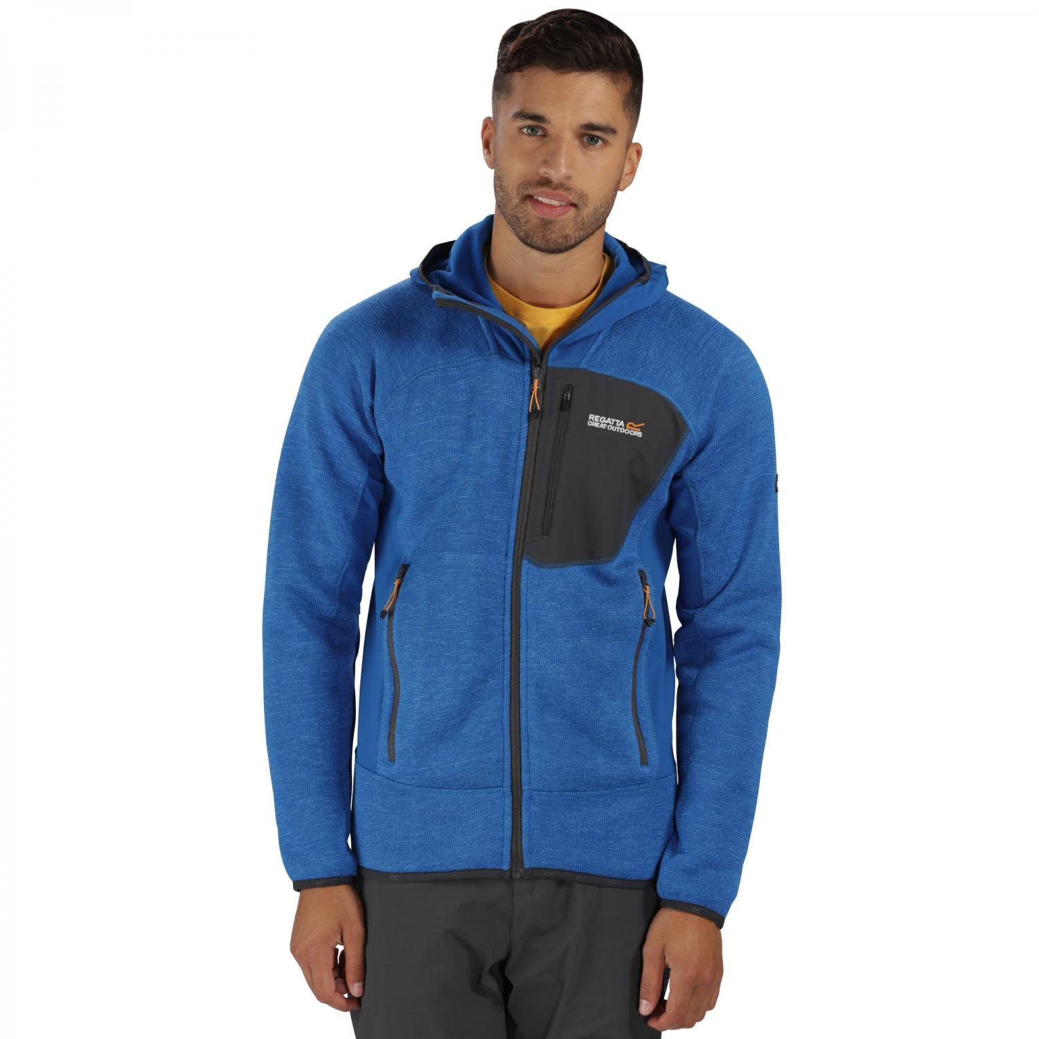 Cartersville III Hooded Fleece Oxford Blue