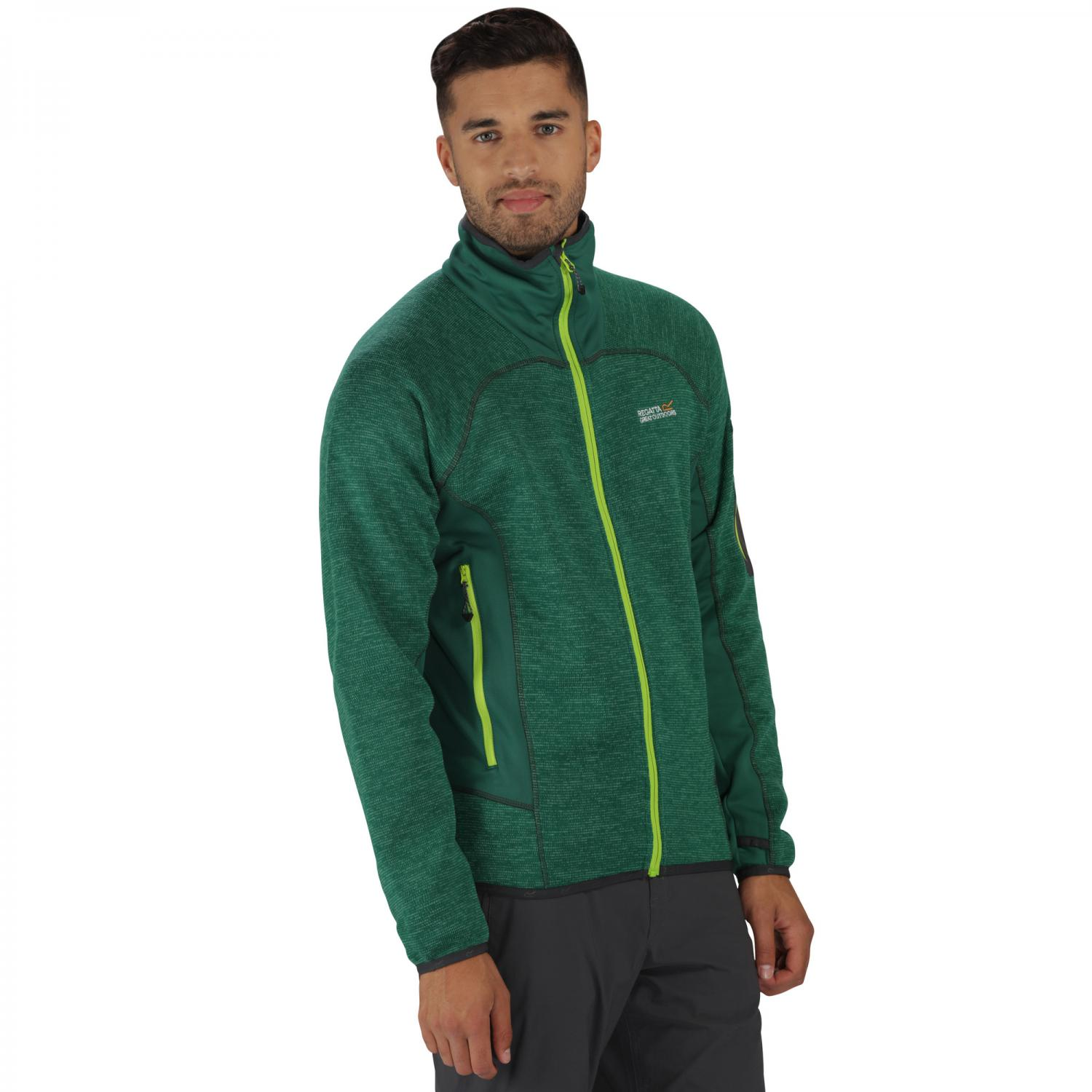Collumbus III Fleece Hunter Green
