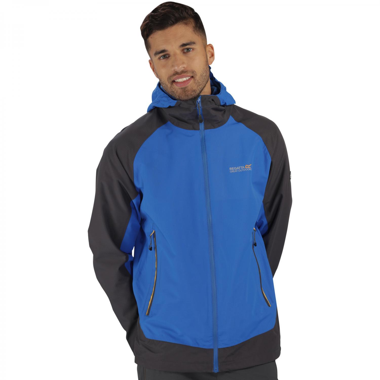 Semita Jacket Oxford Blue Grey