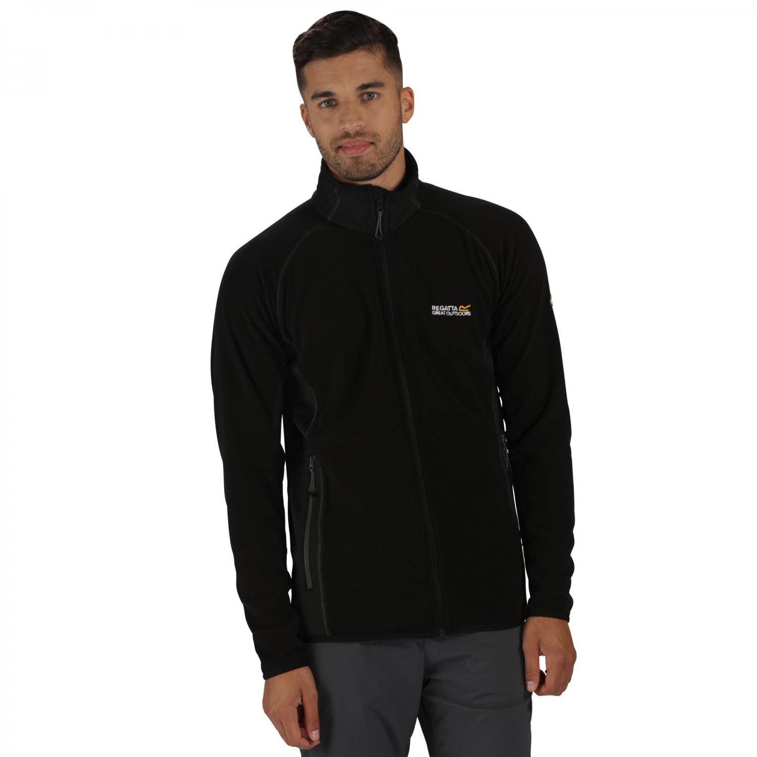 Heaton II Fleece Black Black