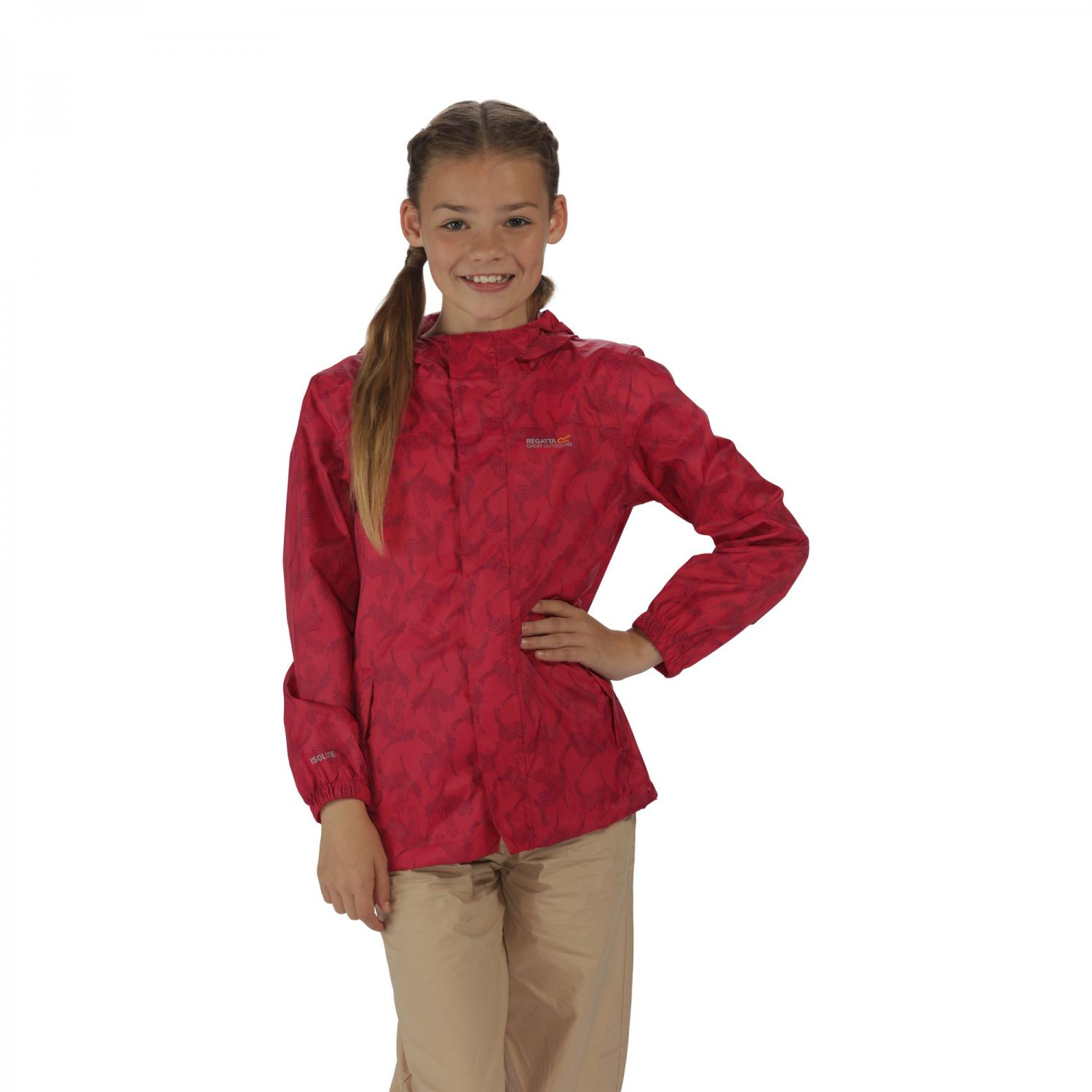 Kids Printed Pack It Jacket Duchess
