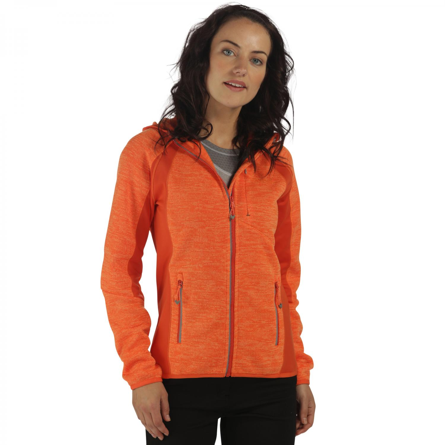 Willowbrook III Hooded Fleece Pumpk Cinamn