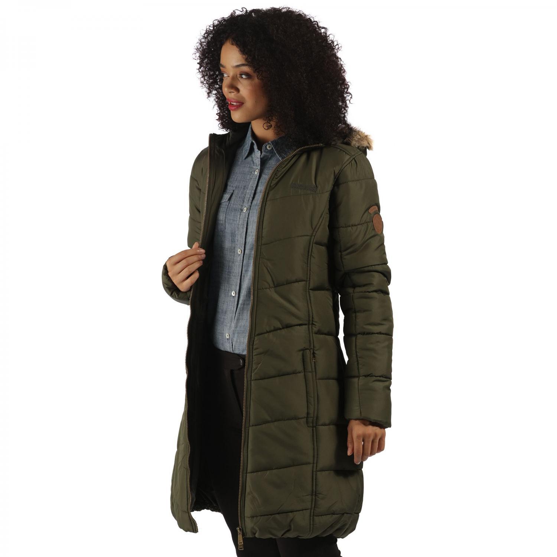 Fearne II Parka Jacket Dark Khaki