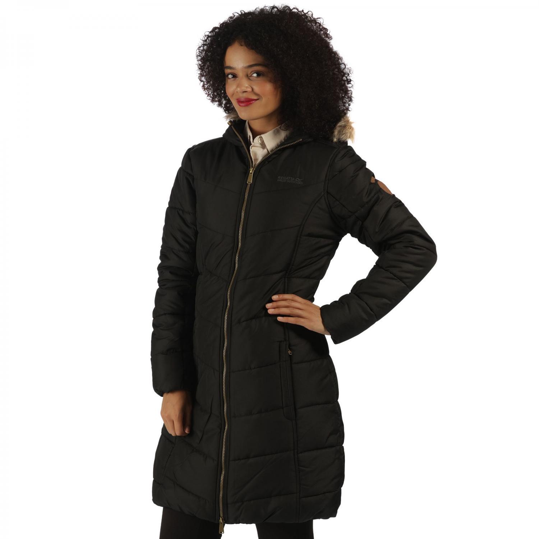 Fearne II Parka Jacket Black