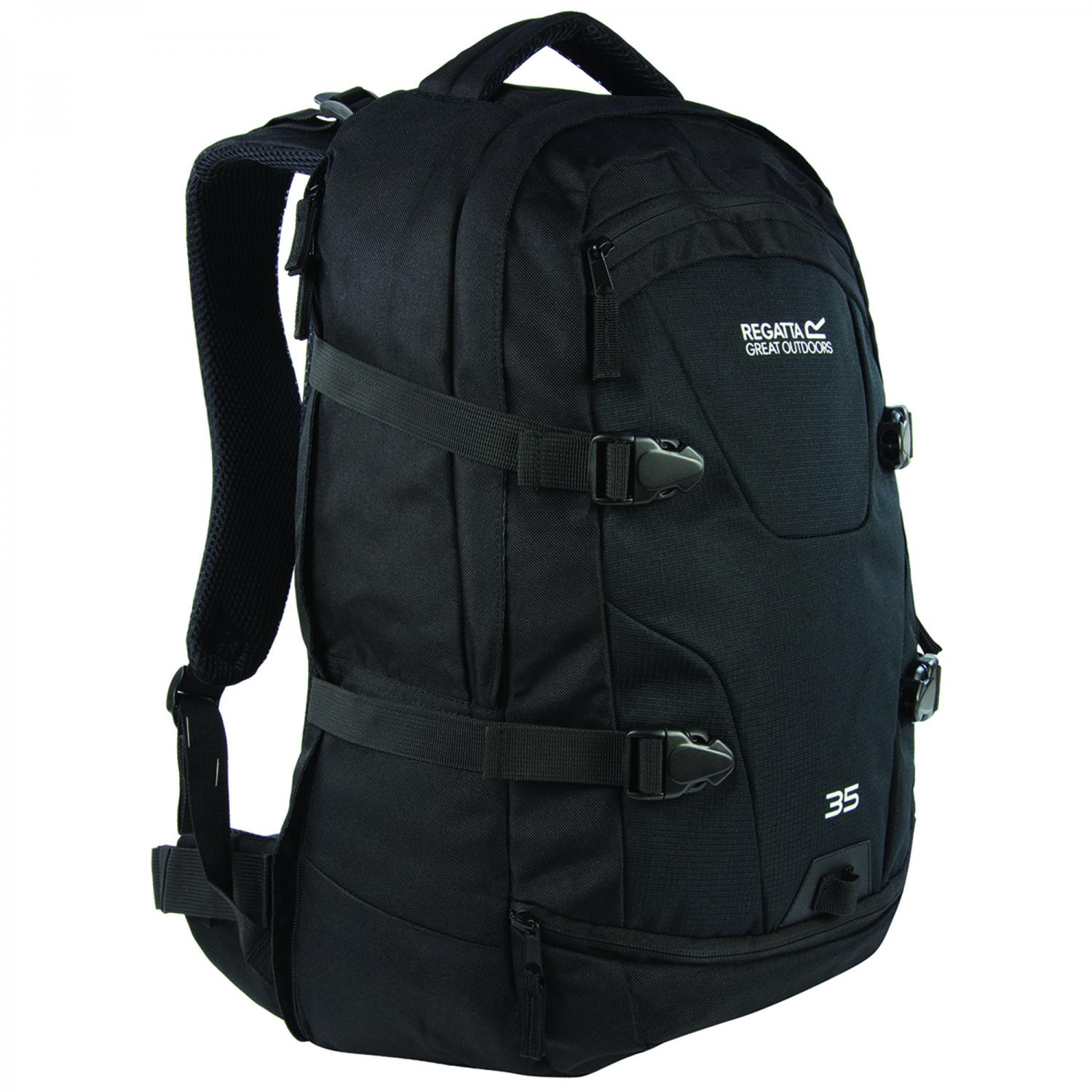 Paladen 35 Litre Laptop Backpack Black