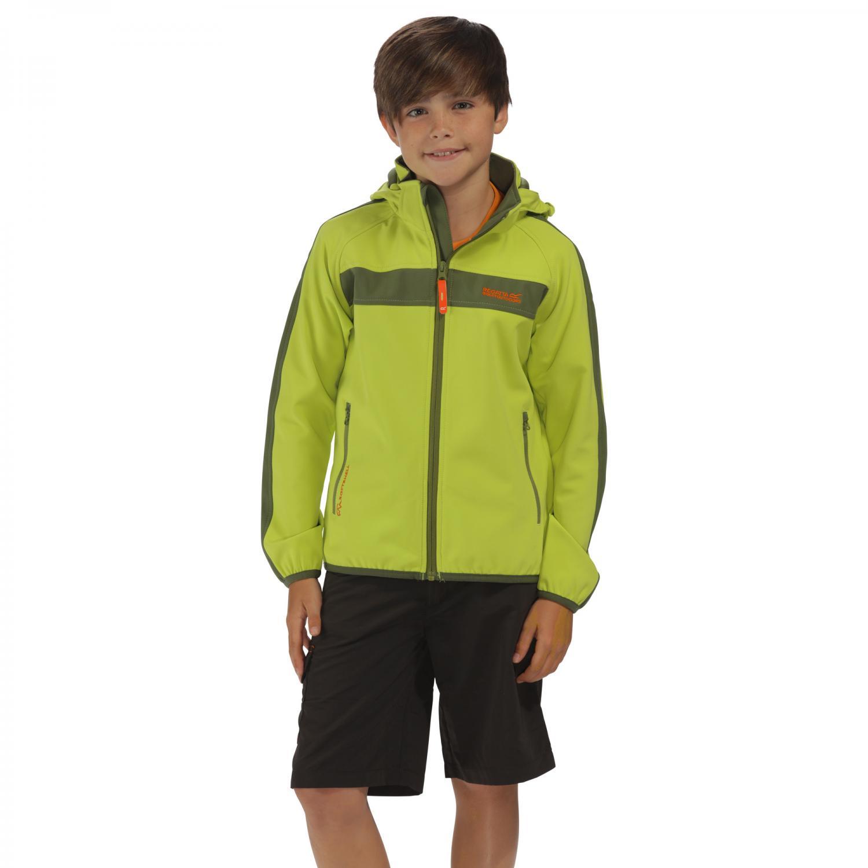 Arowana II Softshell Jacket Lime Green
