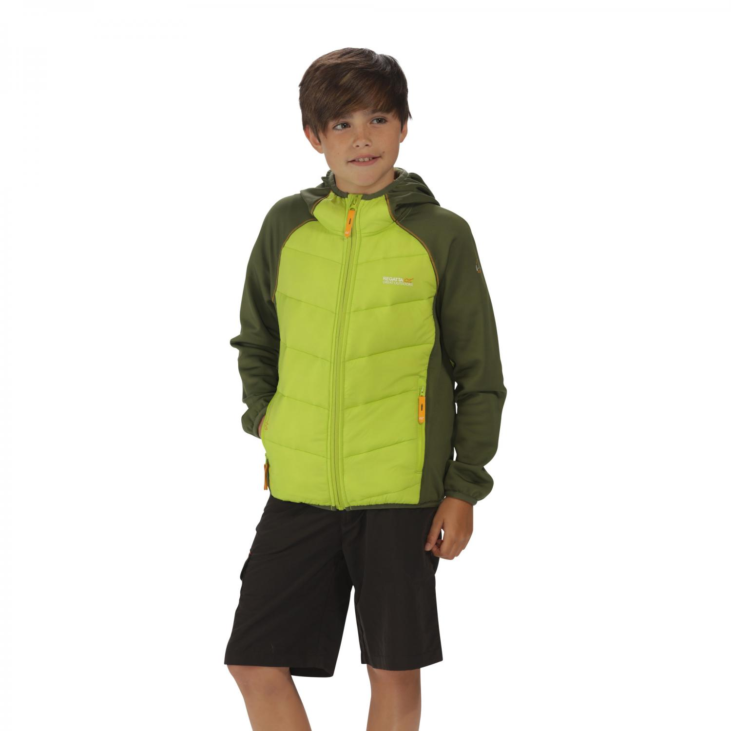 Kielder Hybrid Jacket Lime Green