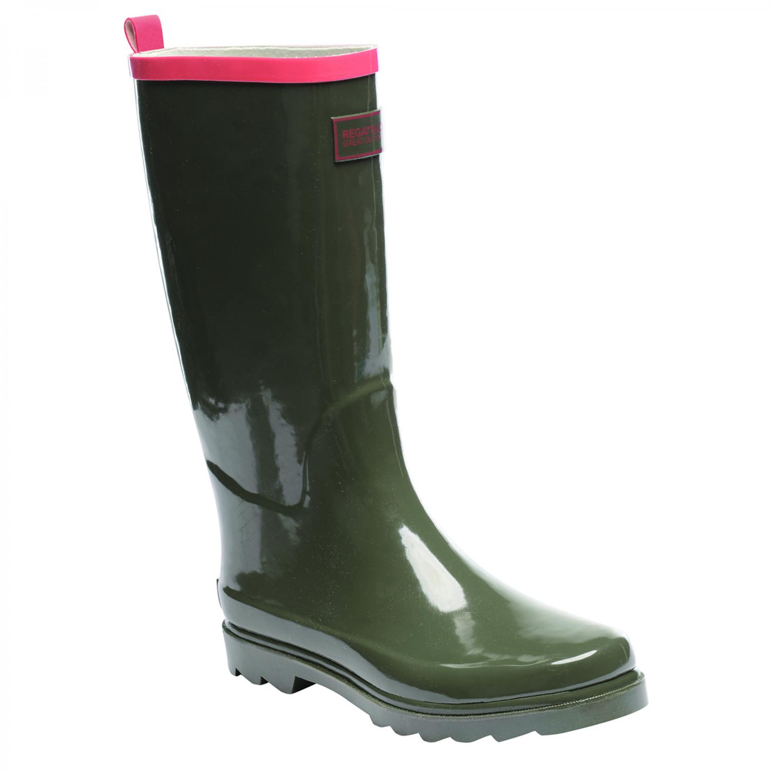 Lady Fairweather Wellington Boot OlvNi DpCorl