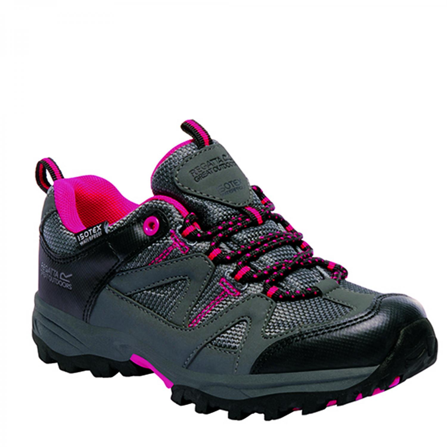 Gatlin Low Junior Walking Shoe Granite Duchess