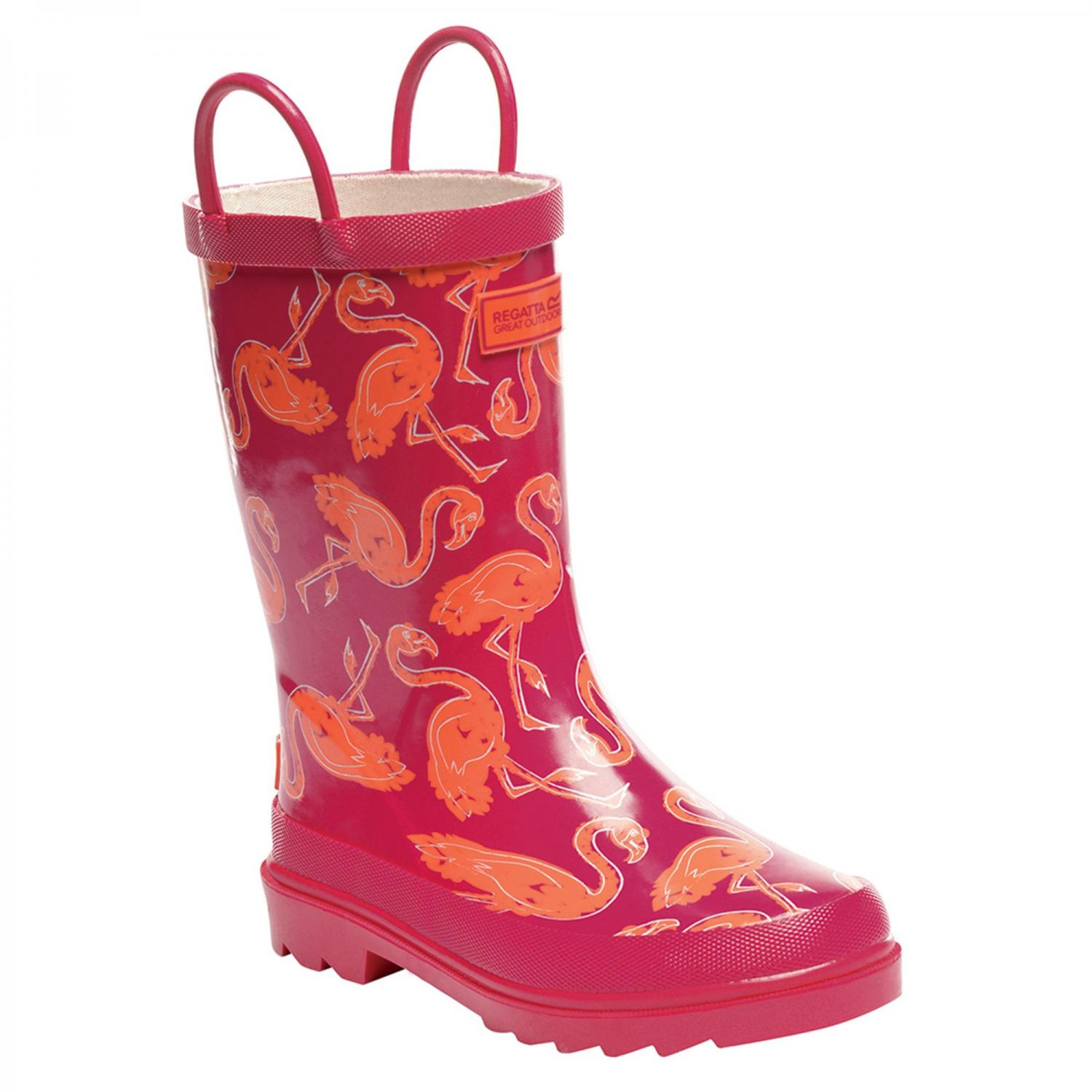 Minnow Junior Wellington Boot Duchess Satsuma