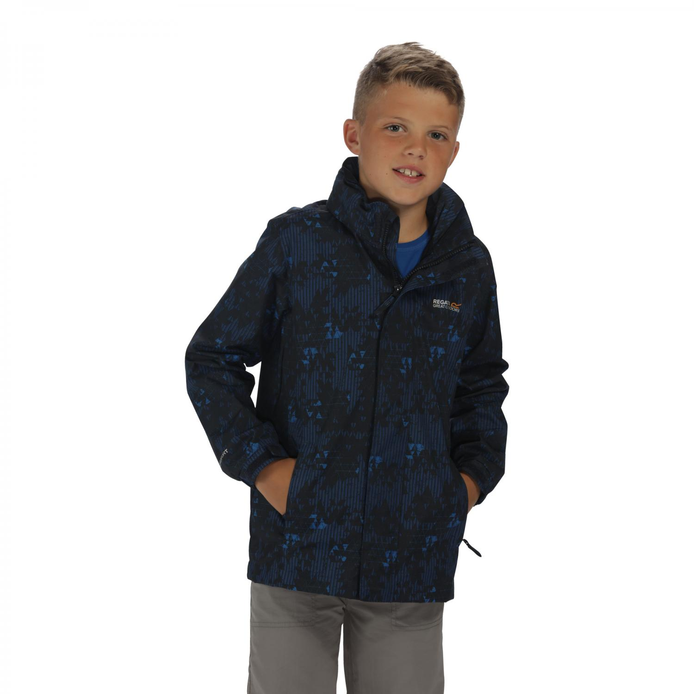 Printed Overchill Jacket Navy