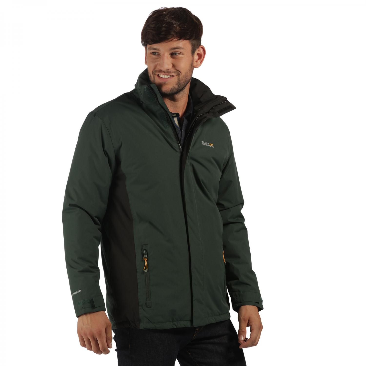 Thornridge Jacket Dark Spruce Black