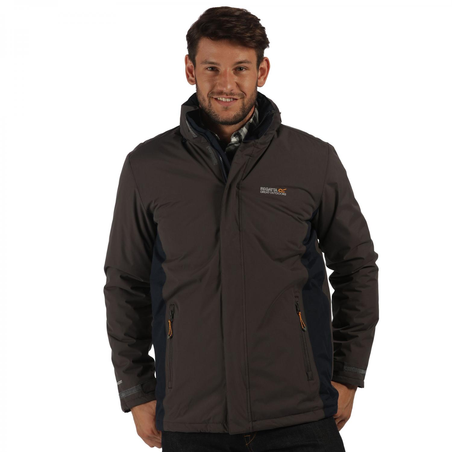 Thornridge Jacket Iron Navy