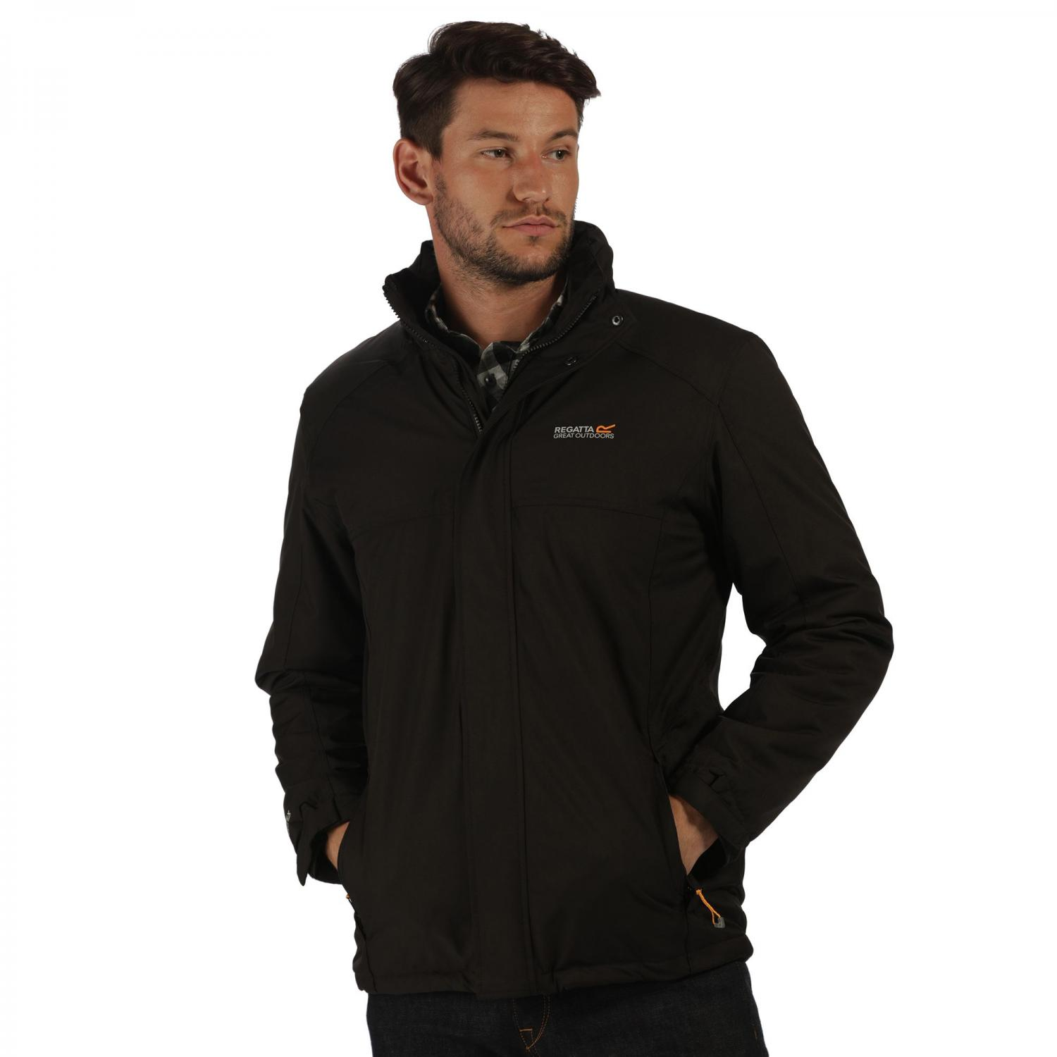 Hackber Jacket Black