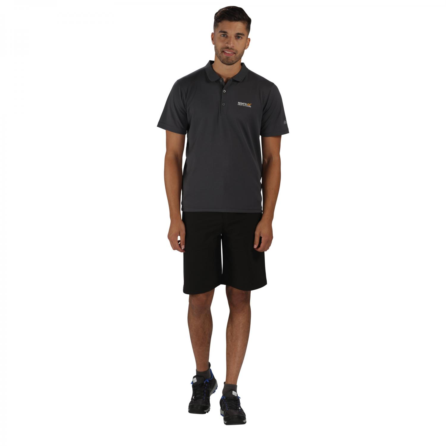 Maverik III Polo Shirt Seal Grey