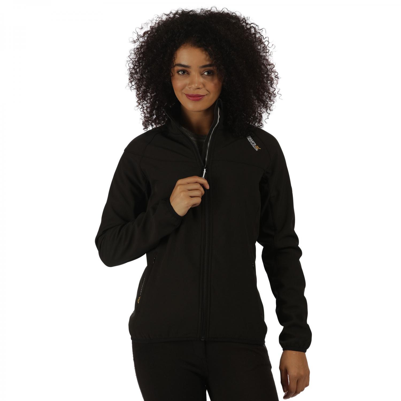 Womens Nebraska IV Softshell Jacket Black