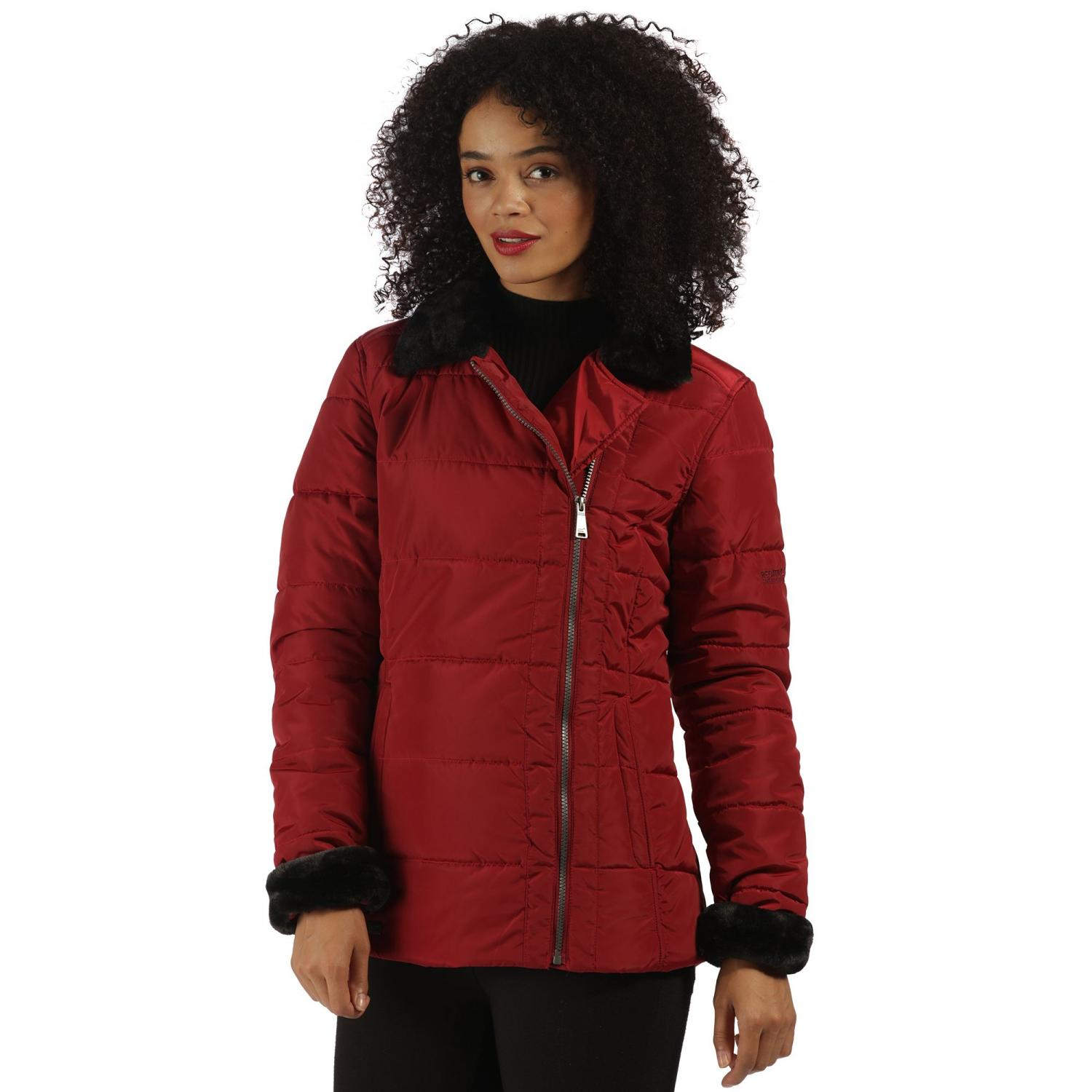 Wren Jacket Rhubarb Red