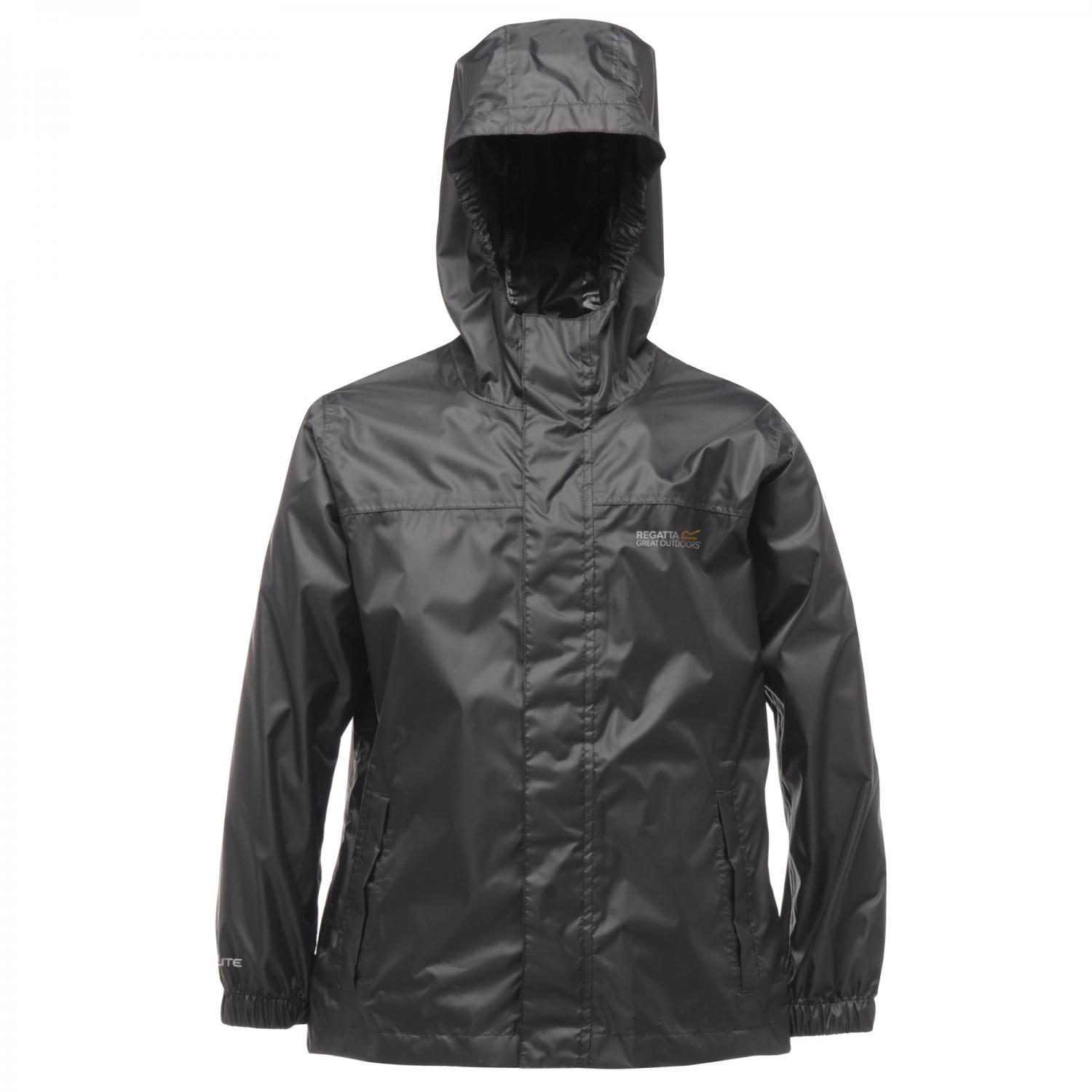 Kids Pack-It Jacket II Black