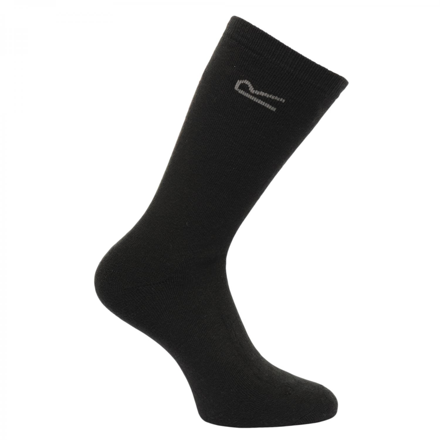 5pk Thermal Sock Black