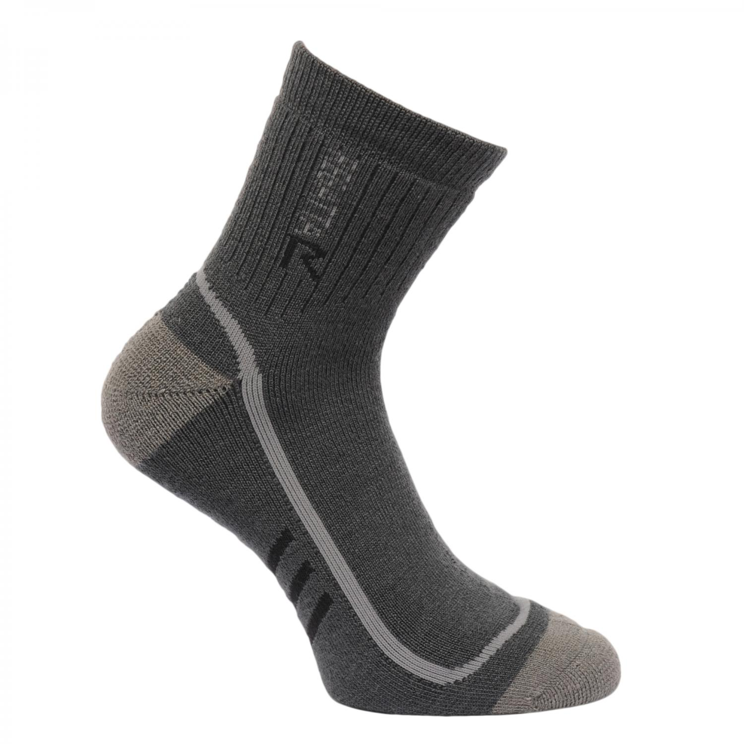 Mens 3 Season Heavyweight Trek and Trail Socks Iron