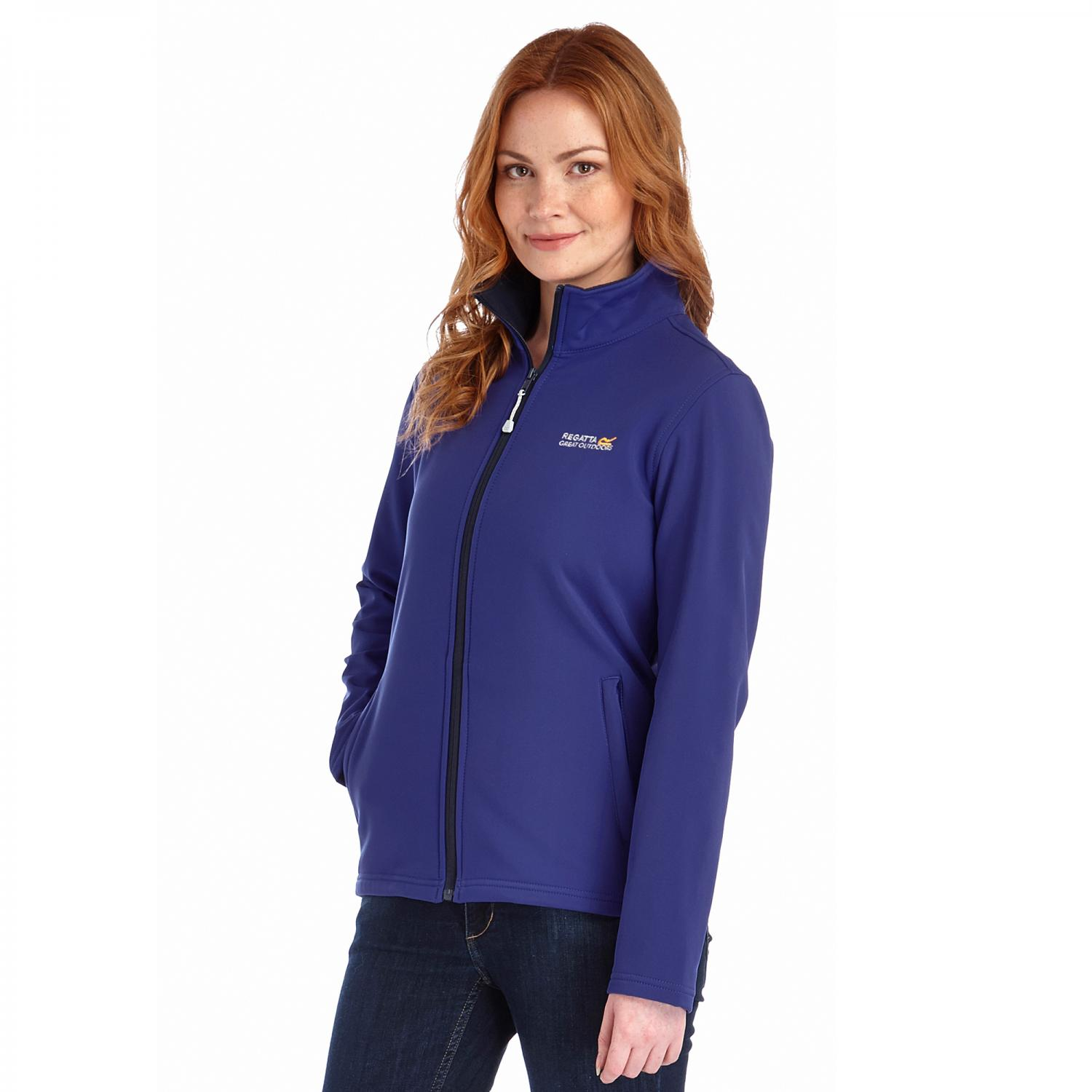 Connie III Softshell Jacket Clematis Blue
