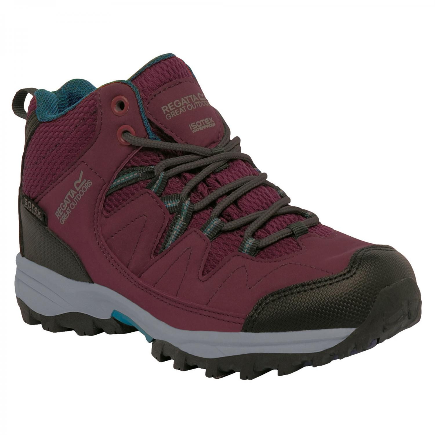 Holcombe Mid Junior Walking Boot Fig DeepTeal
