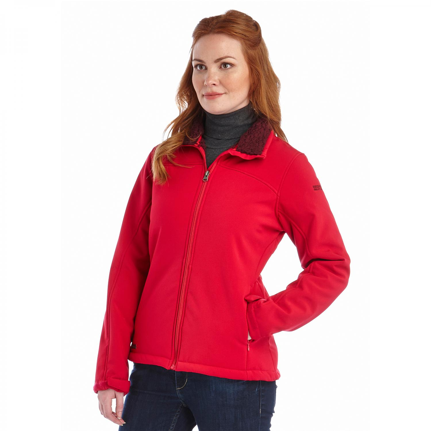 Tulsie Softshell Jacket Persian Red