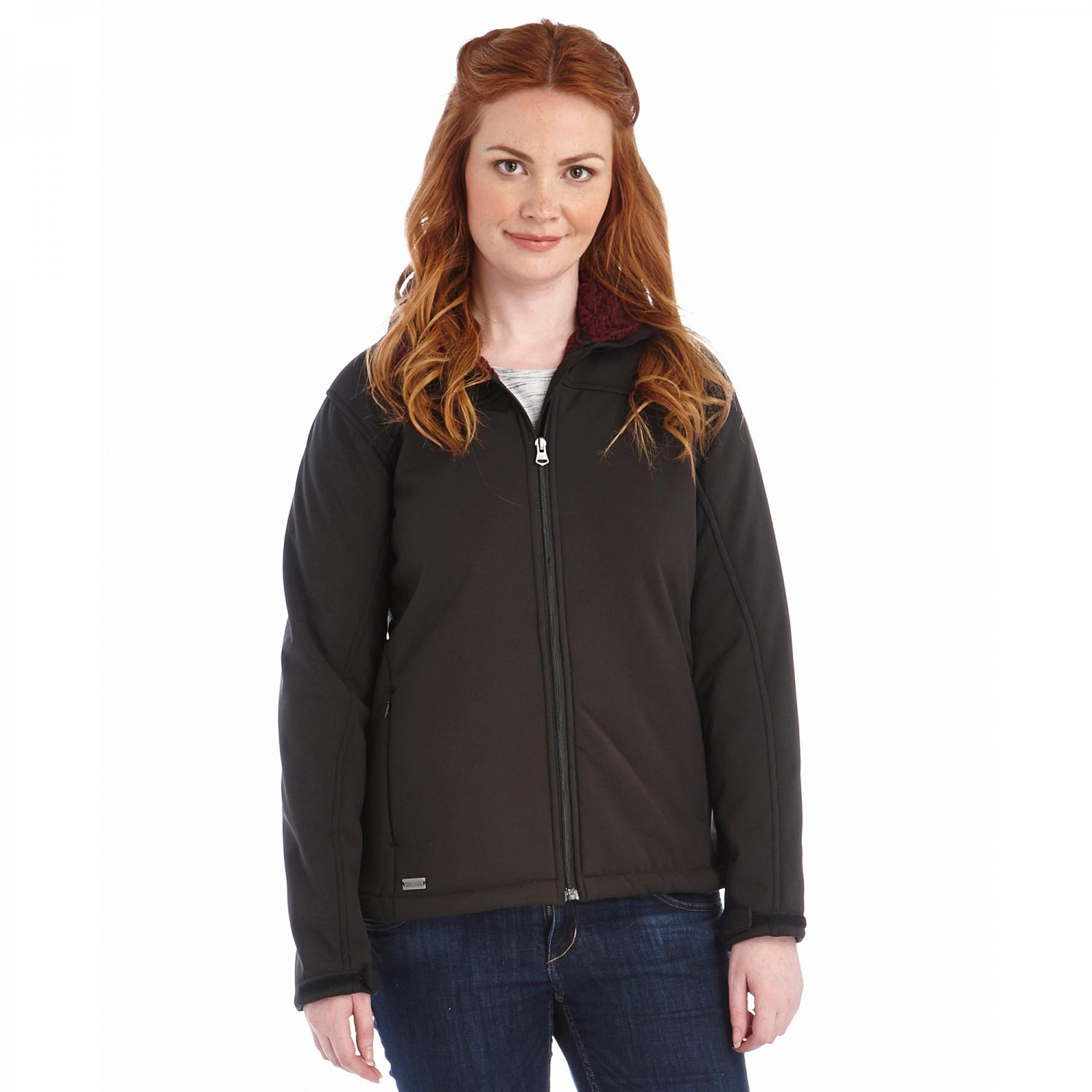 Tulsie Softshell Jacket Black