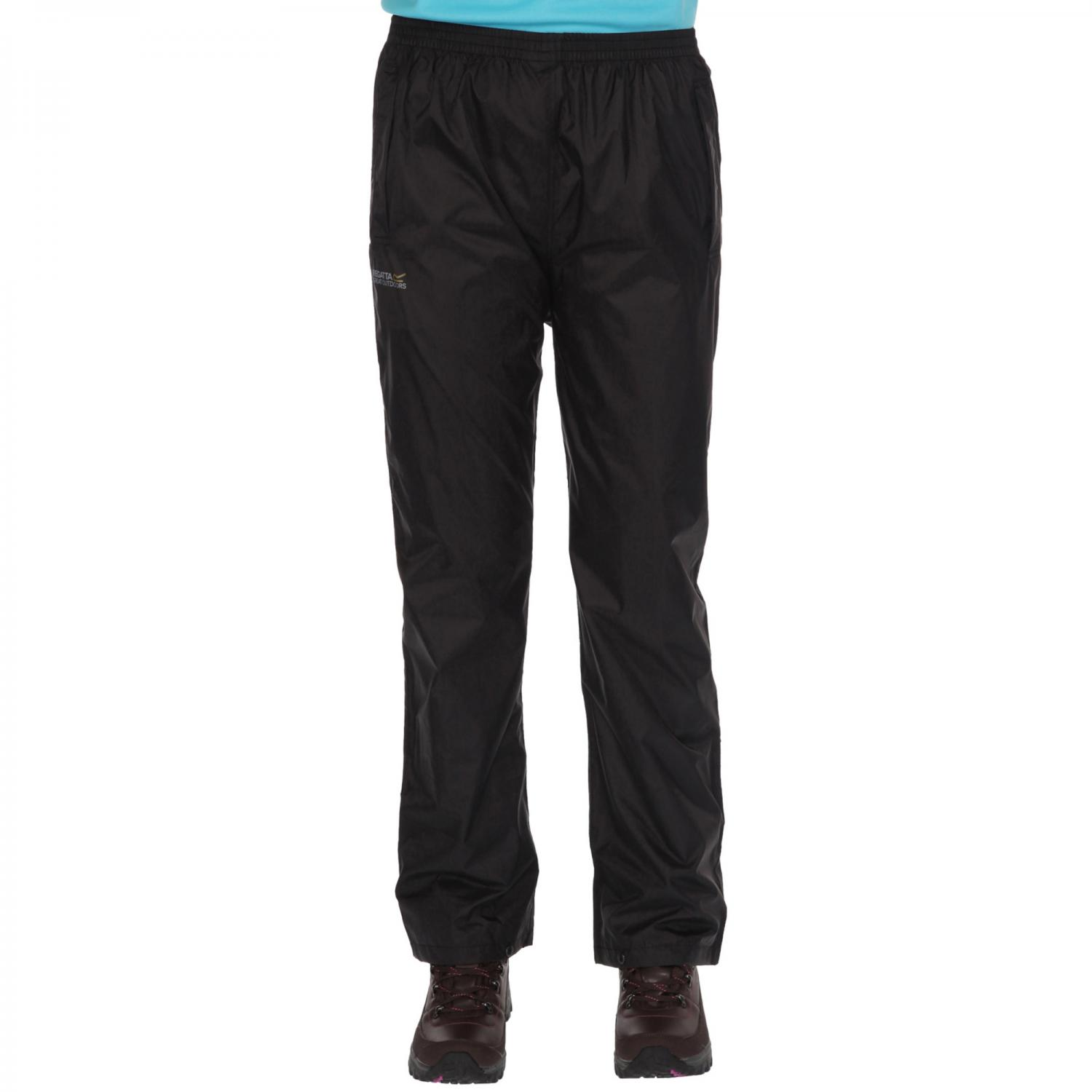 Womens Pack It Overtrousers Black