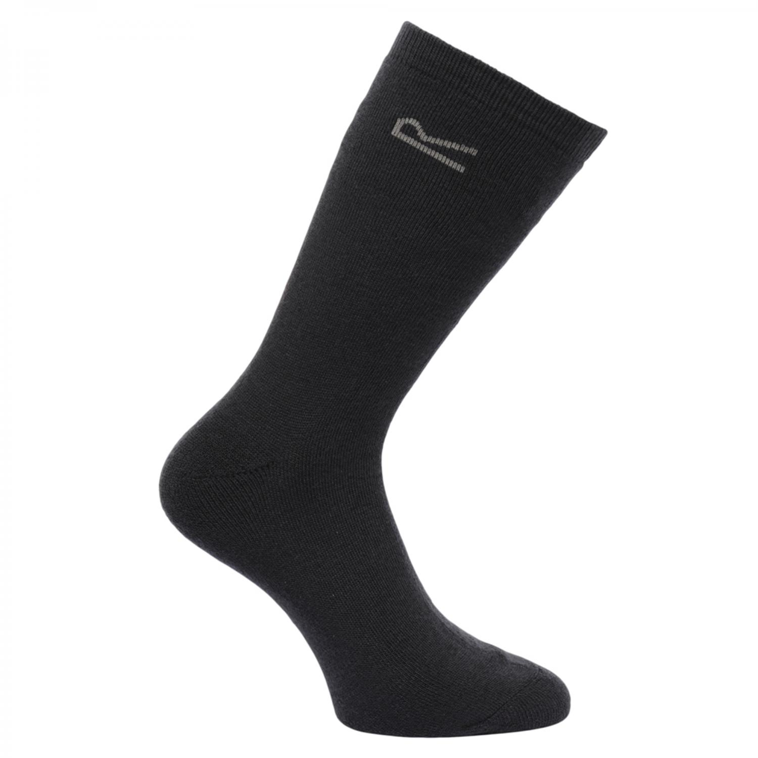 5pk Thermal Sock Navy