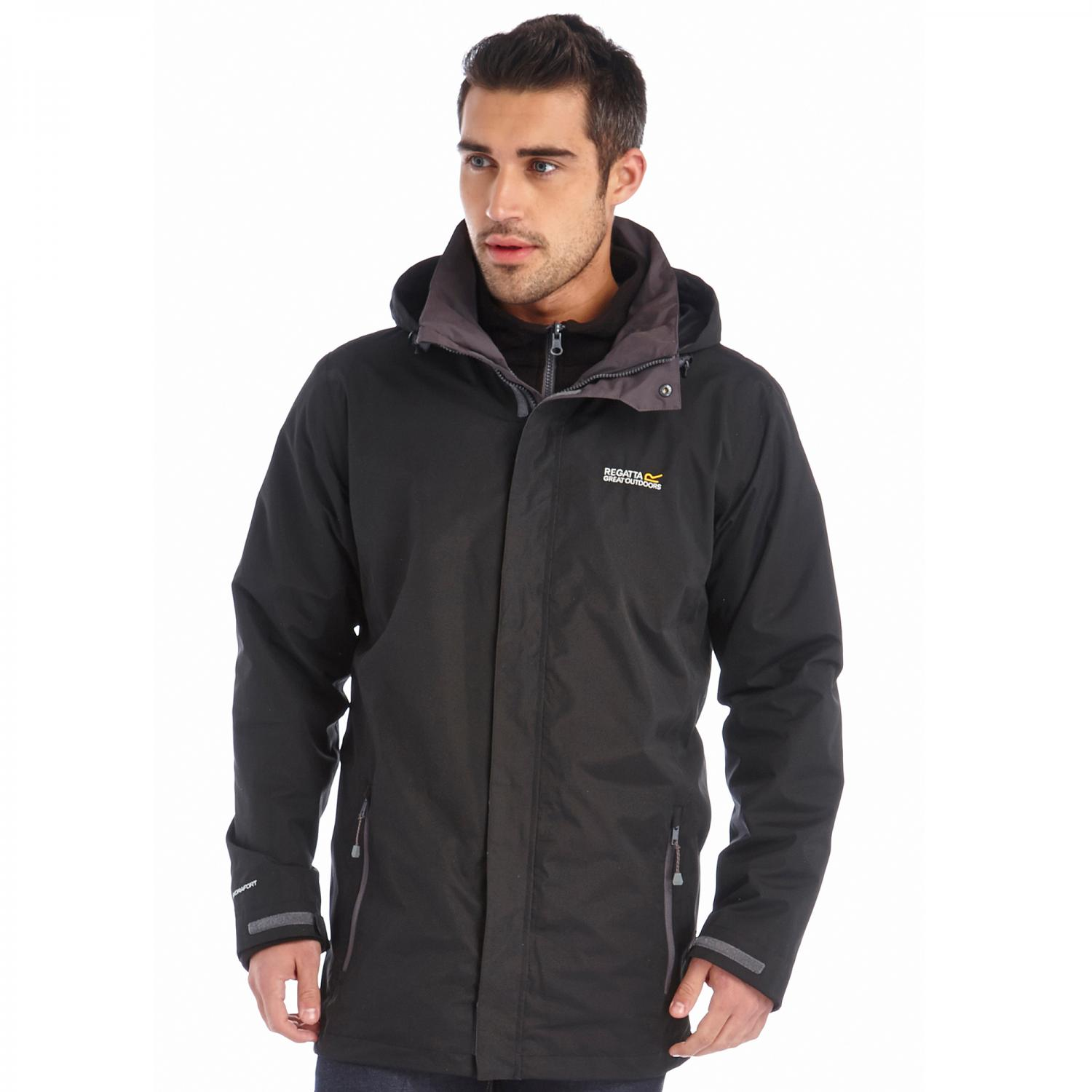 Telmar 3 in 1 Jacket Black