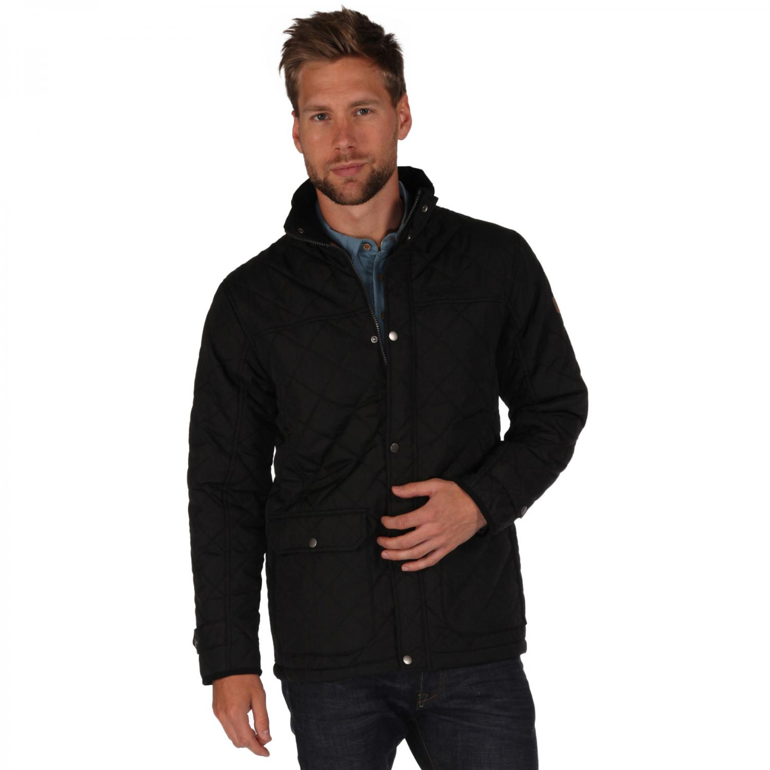 Rigby Quilted Jacket Black