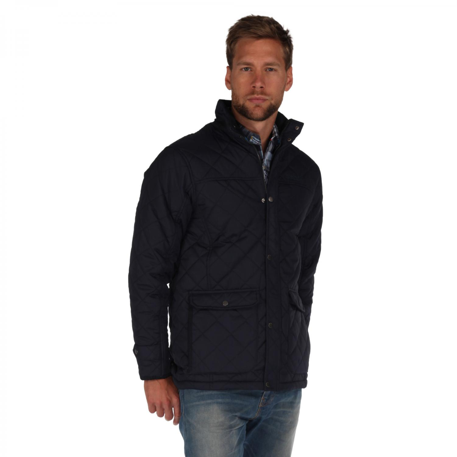 Rigby Quilted Jacket Navy