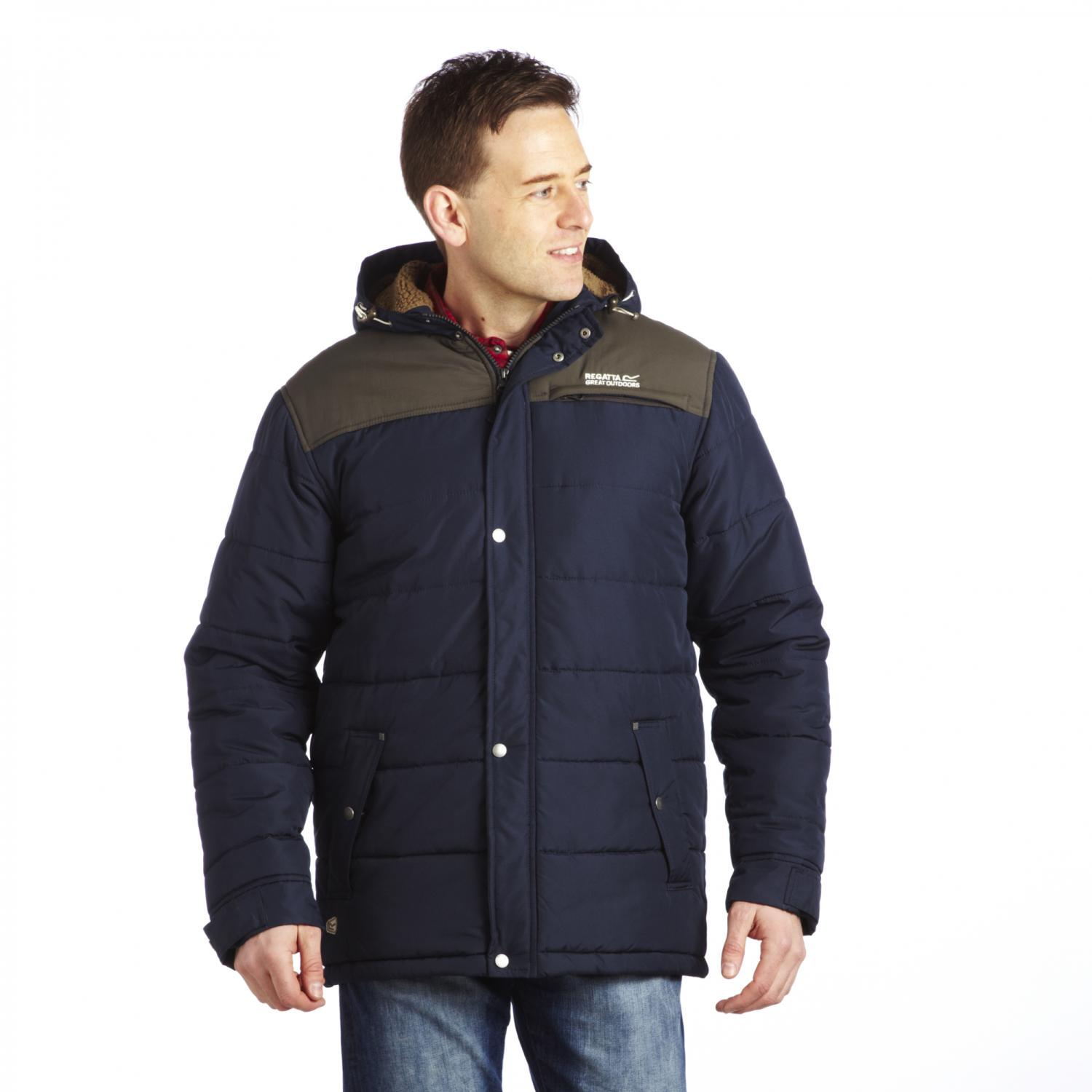 Winterwarm Quilted Jacket Navy