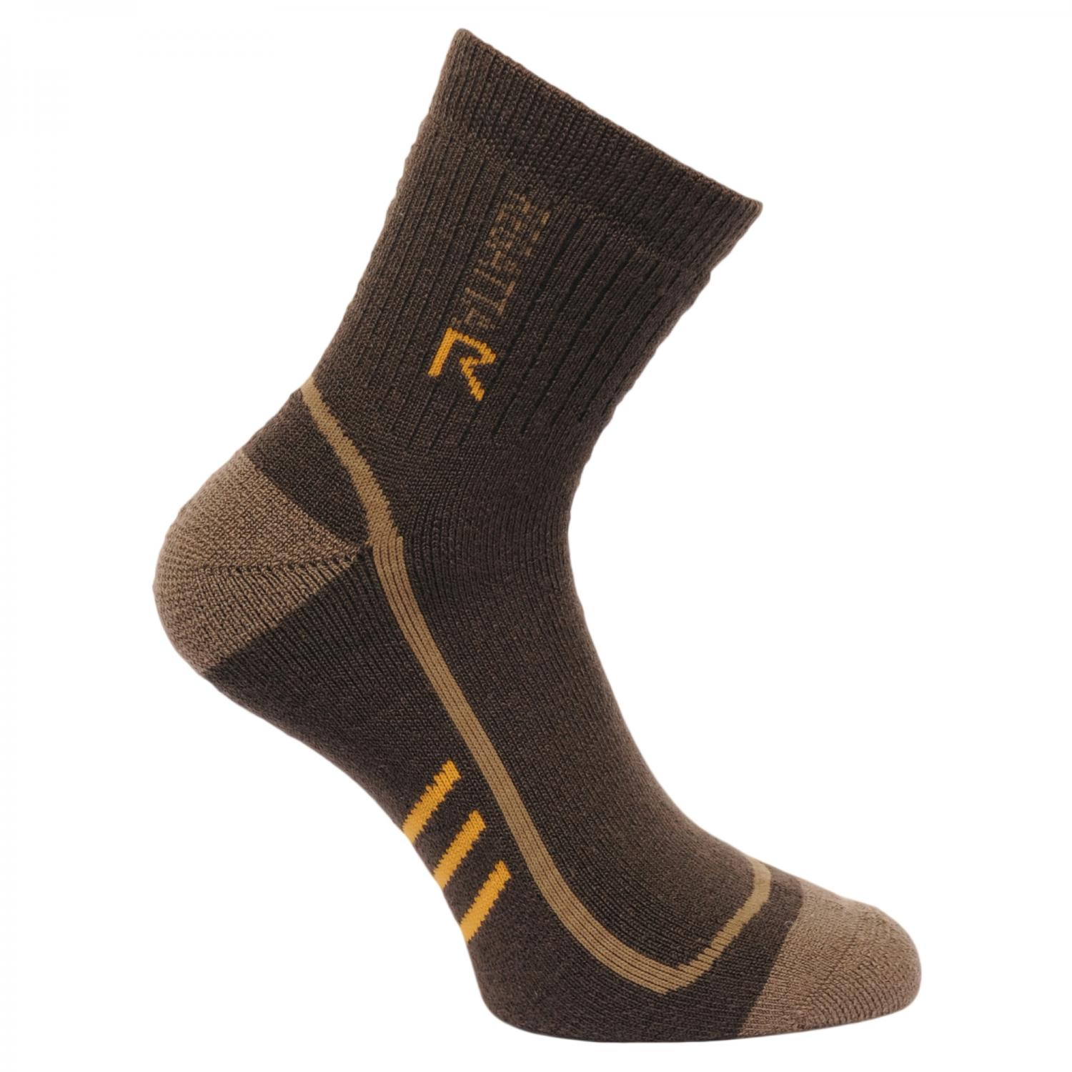 Mens 3 Season Heavyweight Trek and Trail Socks Clove