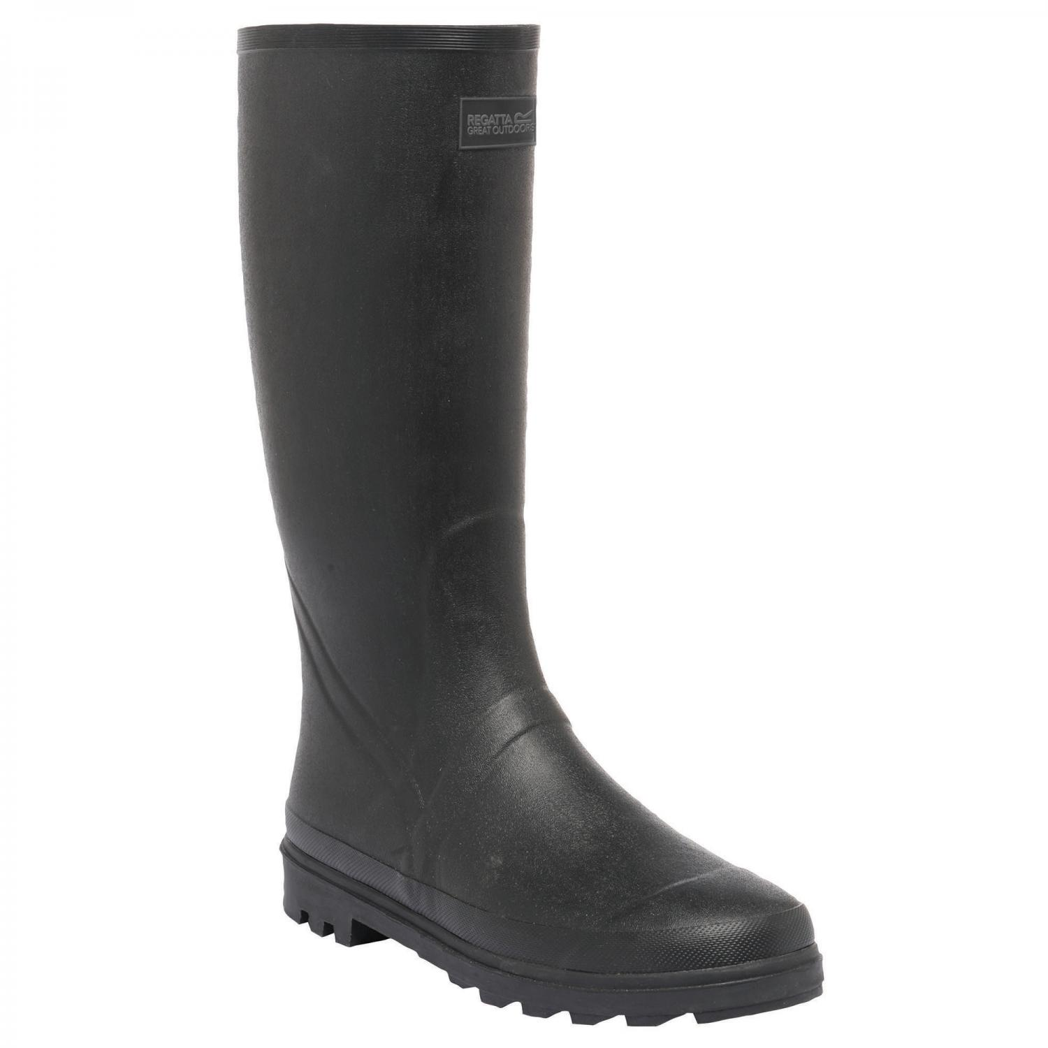 Mumford Wellington Boots Black