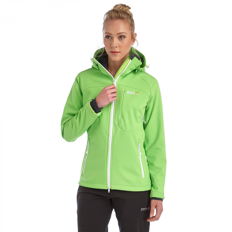 Desoto Softshell Jacket Green Flash