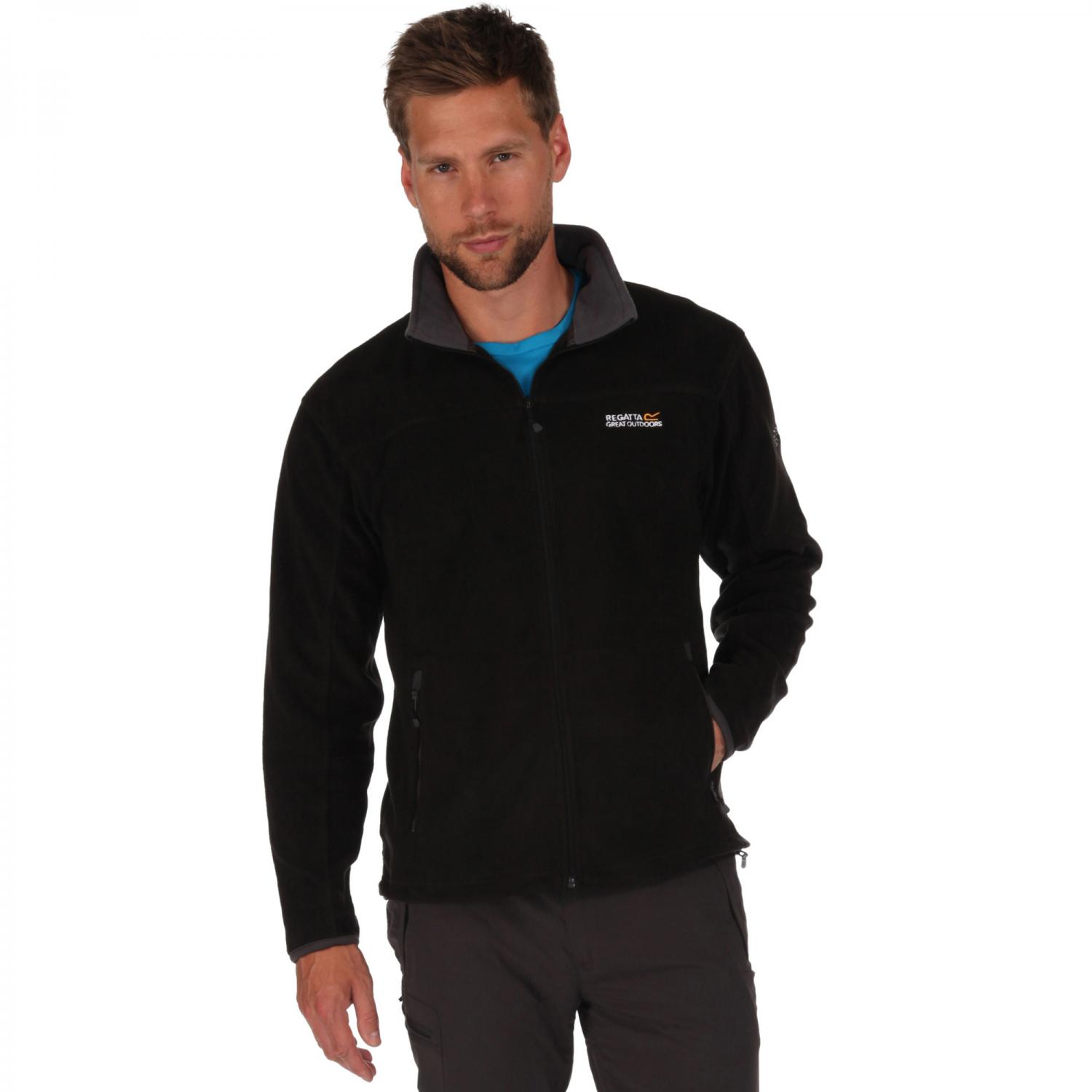 Stanton II Fleece Black Seal Grey