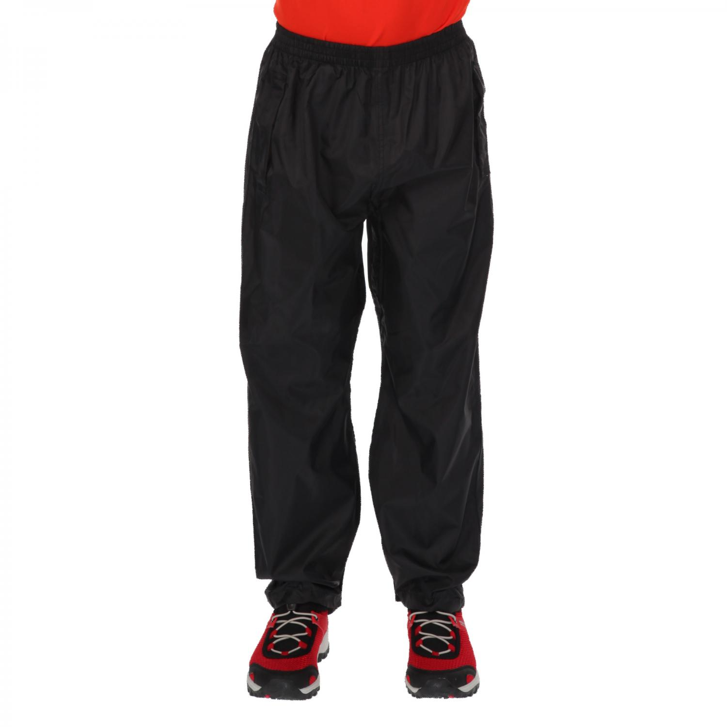 Kids Pack-It Overtrousers Black