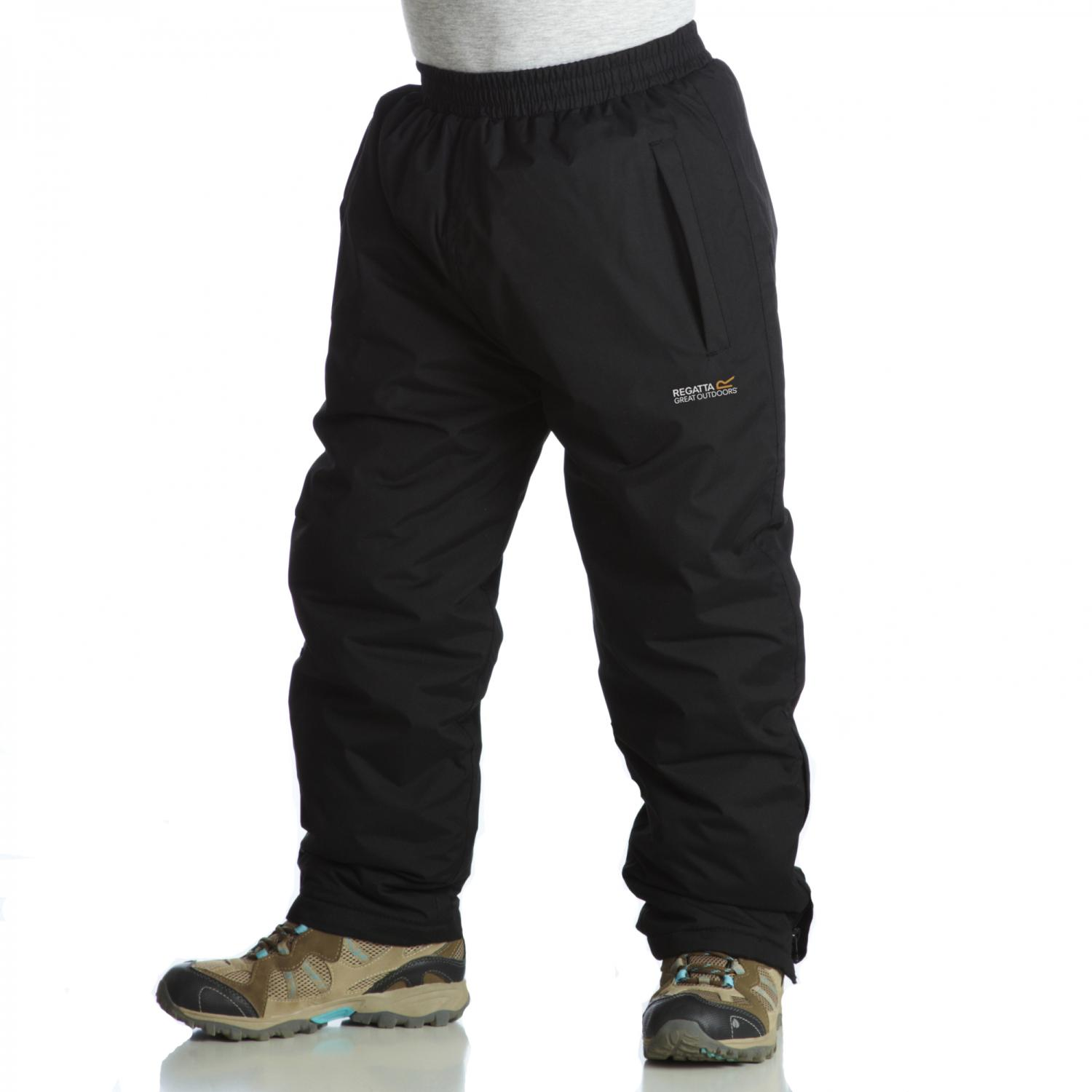 Kids Padded Chandler Overtrousers Black
