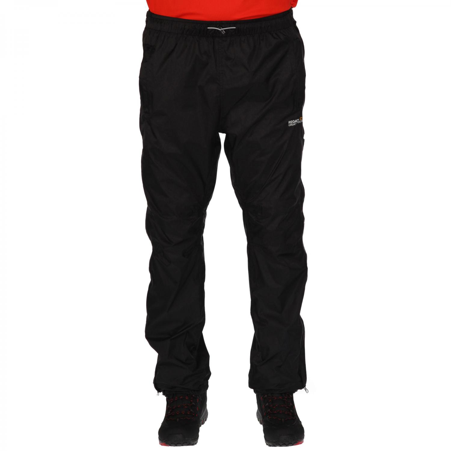 Active Packaway Overtrousers II Black