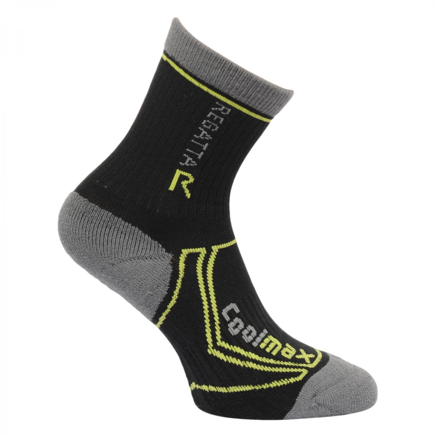Two Season Trek & Trail Sock Black