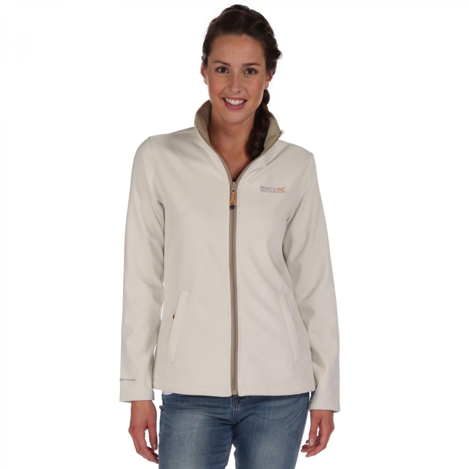 Connie III Softshell Jacket Polar Bear