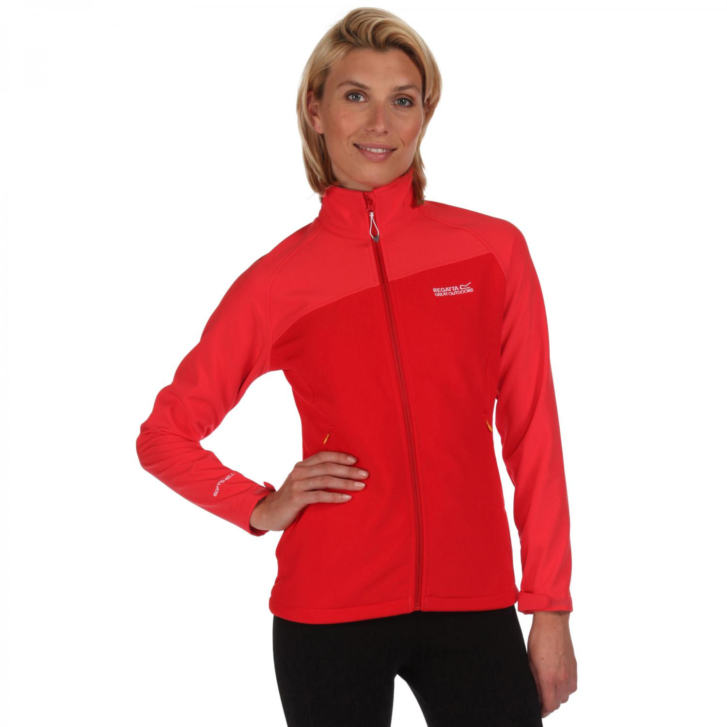 Womens Nebraska III Softshell Coral Blush