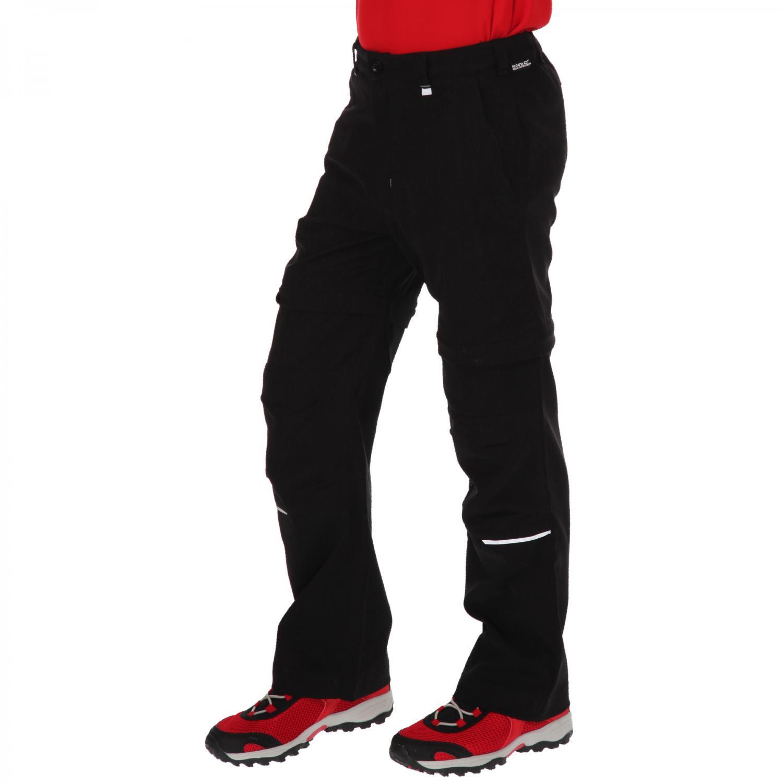 Heathtek Stretch Zip Off Trousers Black